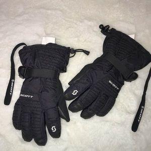 Kids Scott insulated snow gloves